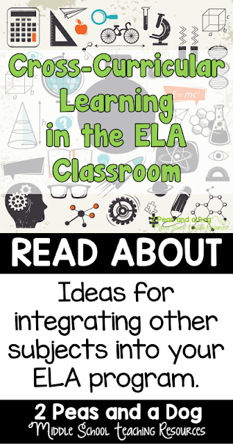 It is important to keep learners engaged in their ELA subject material by creating cross-curricular lessons. Students are more likely to see a purpose for their learning if it can be used in other classes.