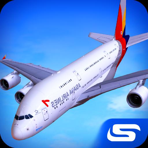 تحميل لعبة Airplane Real Flight Simulator مهكرة نقود لا نهاية
