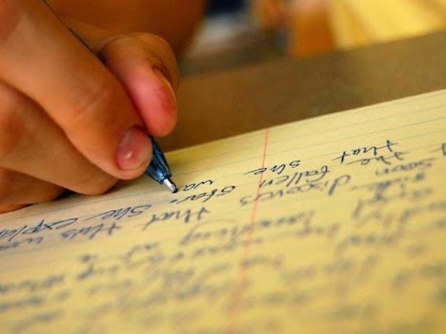 Menulis Karangan  Pengertian, Fungsi, Unsur-unsur, Langkah Membuat, Contoh Kerangka dan Pengembangannya