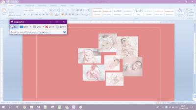 Gambar ilustrasi penggunaan snipping tool memotong gambar di microsoft word