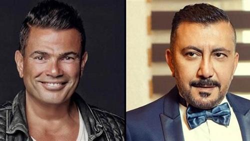 عمرو دياب يظهر بلوك جديد في اغنيه معاك قلبي واشاعات زواجه بالفنانة