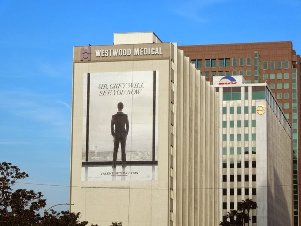 Giant 50 Shades of Grey teaser Mr Grey will see you now billboard