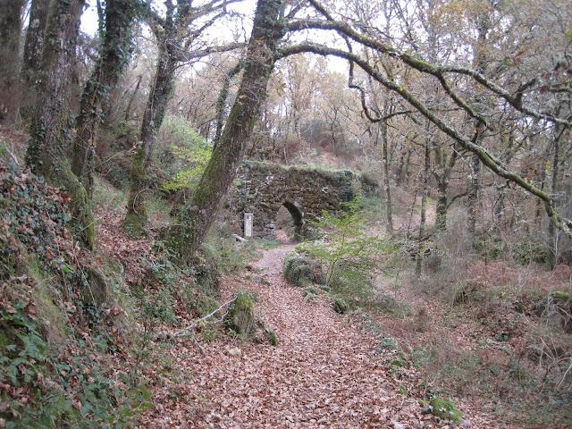 Acueducto de A Cidadella en Fornelos de Montes