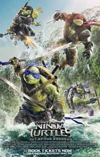 Teenage Mutant Ninja Turtles 2016 Hindi Dubbed Download Dual Audio 800mb CAMRip