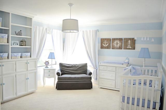 10 belles chambres de bébé garçon - bébé et décoration - chambre