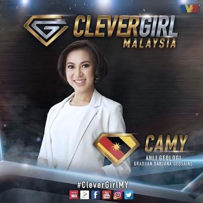 Peserta, Clever Girl Malaysia, 2017, Musim Kedua, Camy, Sarawak, Fadila, N9, Hos, Alif Satar, Kuiz, Game Show, TV3,