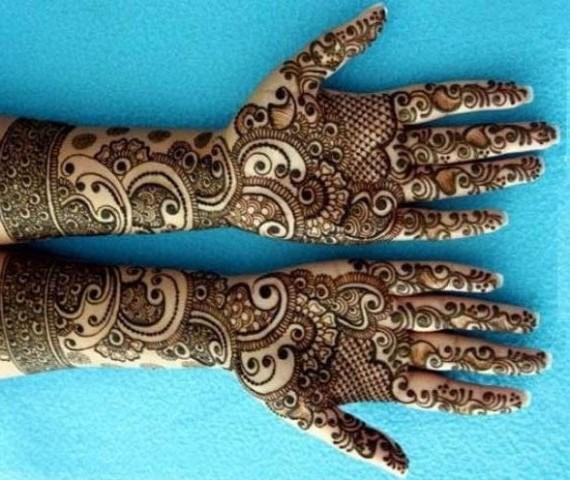 bridal mehndi designs beautiful pakistani henna design