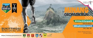 Minang Geopark Run • 2019