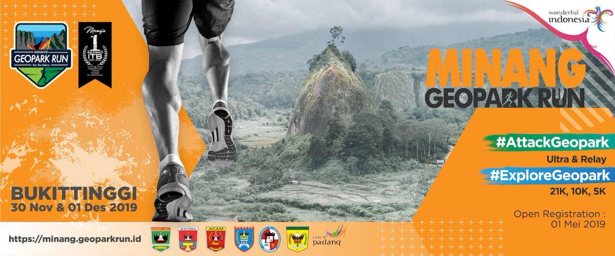 Minang Geopark Run • 2019