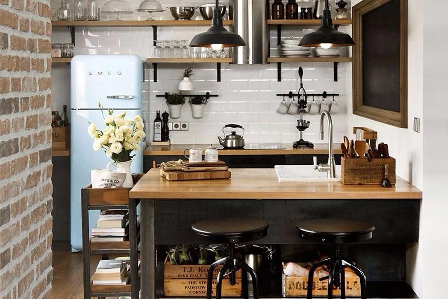 1. Kitchen Design with U Shape Small Kitchen Design with U
