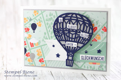 sale-a-bration 2017; stampinup frühjahrkatalog2017; Stampinup abgehoben; Karte Heißluftballons; Karte Traum vom Fliegen; stempel-biene; Gratisprodukte stampinup