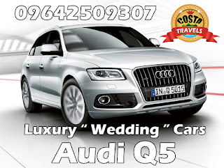 luxury wedding cars Audi Q5