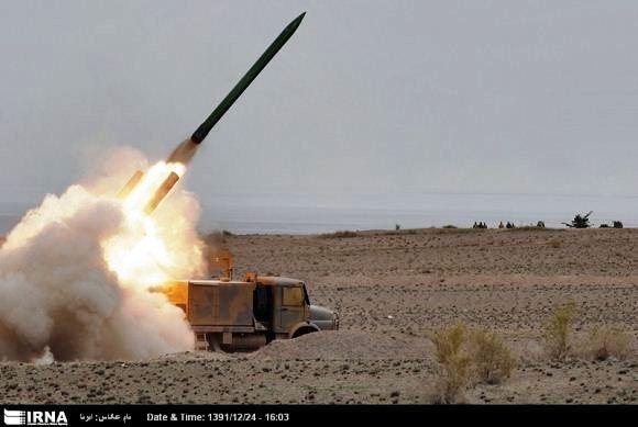 Penembakan rudal Naze'at 10