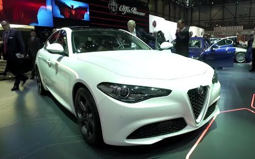 Alfa Romeo Giulia at Geneva Motor Show