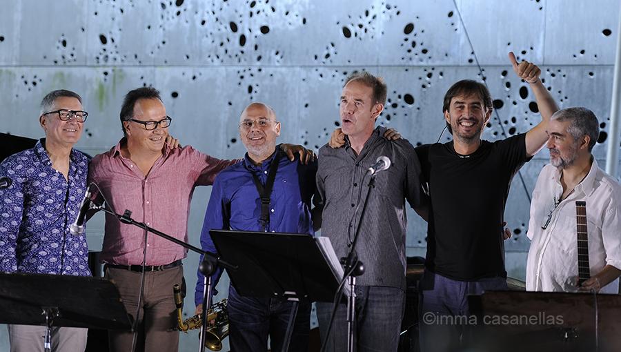 Gonzalo Tejada, Iñaki Salvador, Mikel Andueza, Chris Kase, Gonzalo del Val i Dani Pérez, Pati del Museo San Telmo, Donostia- San Sebastián, 22-jul-2016