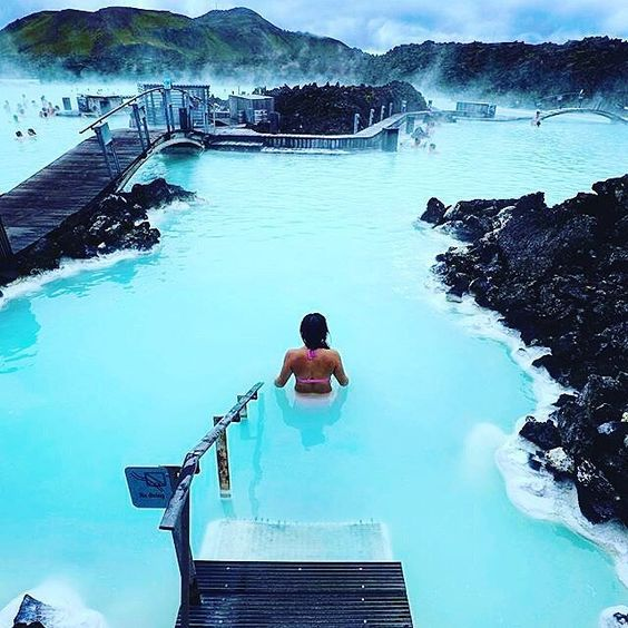 Offshore Tax Haven - Blue Lagoon Hot Springs - Iceland