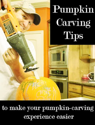 Pumpkin Carving Instructions All Things Spooky All Things Thrifty