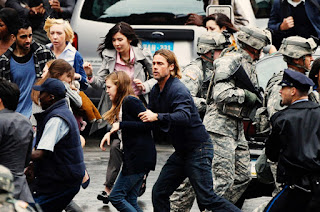 World War Z Brad Pitt zombie movie 2013