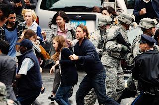 World War Z Brad Pitt zombie movie 2013