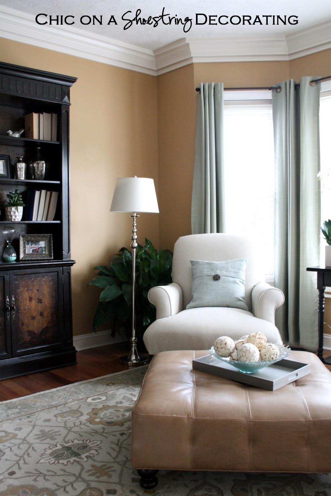 Beige Color Palette Living Room Small Modern Chic On A Shoestring Decorating: Grand Piano