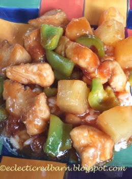 Eclectic Red Barn: Healthy sweet and sour chicken