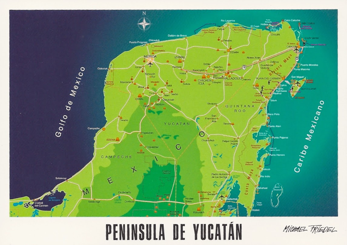 Yucatan Peninsula Tourism: Best of Yucatan Peninsula