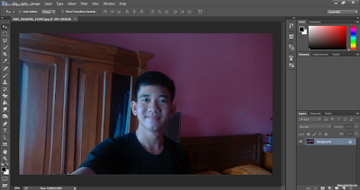 Membuat Background Foto Blur dengan Photoshop