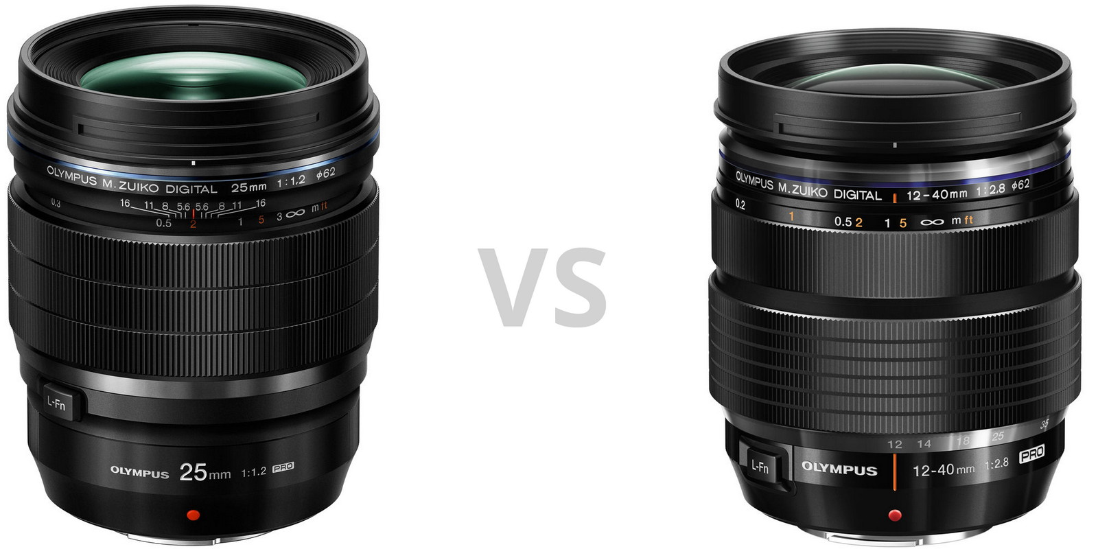 Olympus 25mm f/1.2 Pro и Olympus 12-40mm f/2.8 Pro