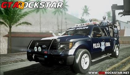 Mod Veículos da Polícia com Megafones para GTA San Andreas