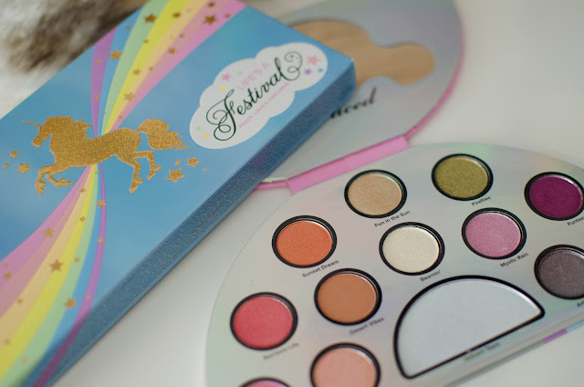 Too Faced / Life's a Festival, La palette So cute !