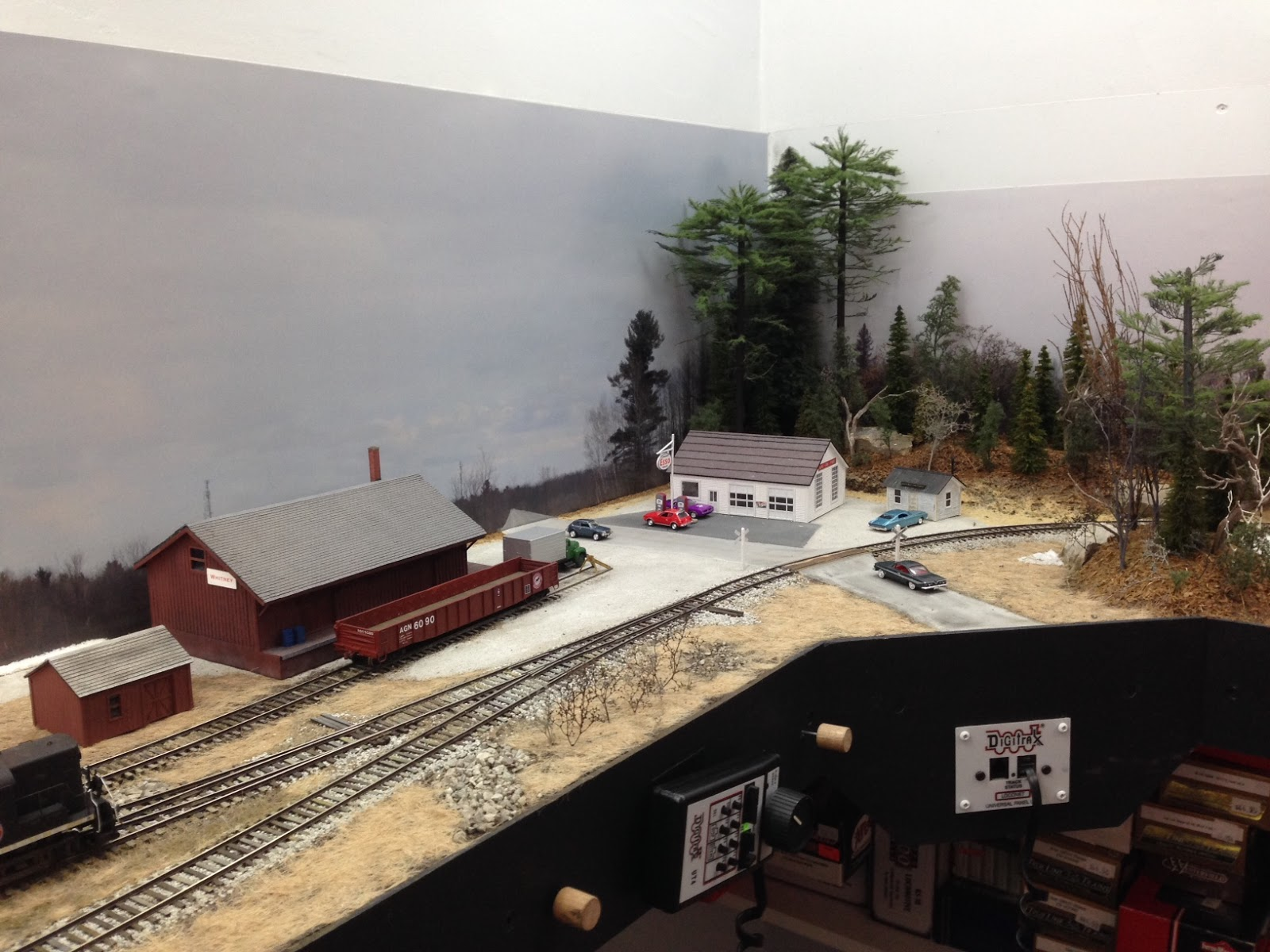 Algonquin railway track plan and layout tour - Ho train layouts for small spaces image ...