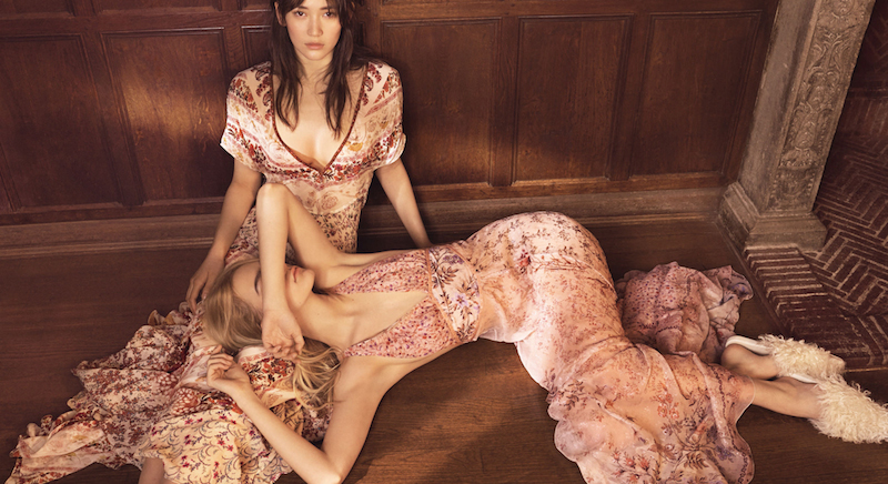 a woman undone: mona matsuoka and steph smith by emma tempest for allure april 2016