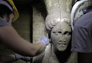 μνημείο του τύμβου Καστά στην Αμφίπολη