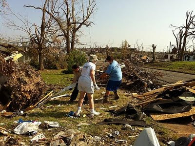 Nazareth Sisters Aid in Joplin, Mo., Tornado Recovery