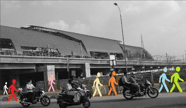 Chennai Koyambedu Metro Station