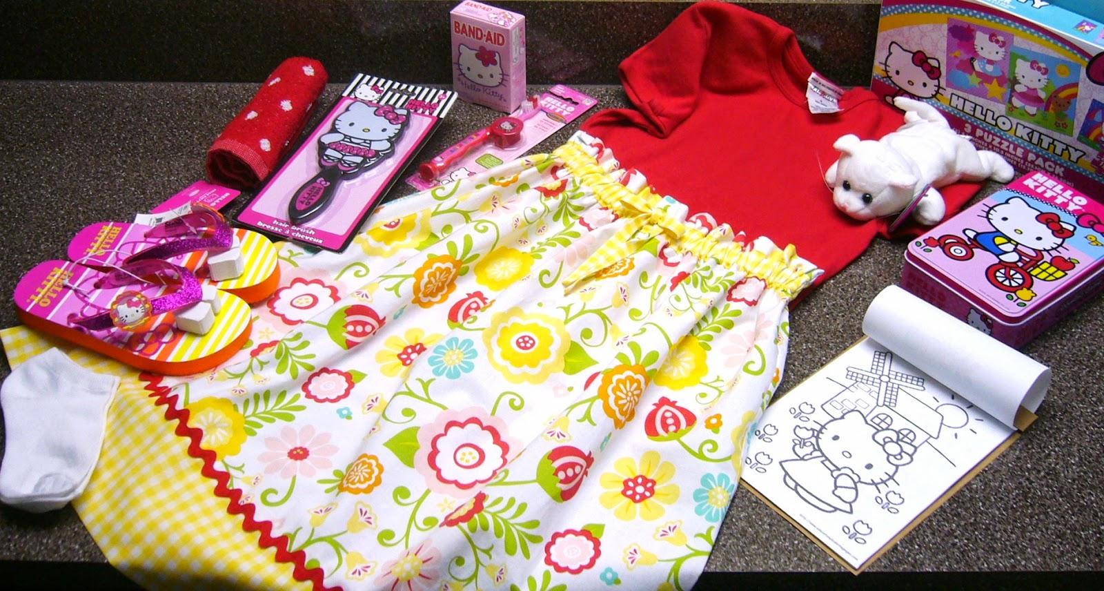 Hello Kitty Themed Operation Christmas Child Shoe Box Gift