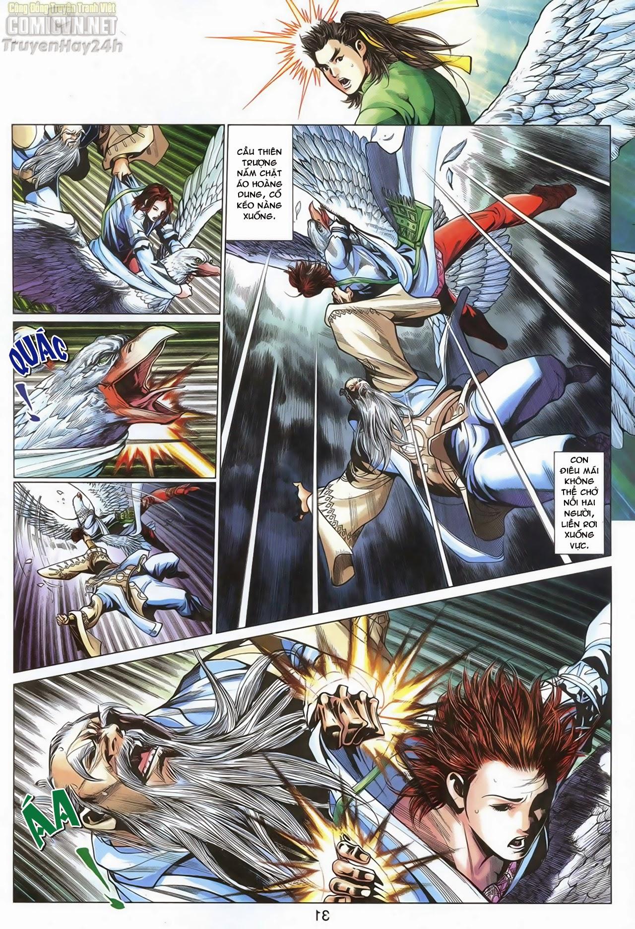 Anh Hùng Xạ Điêu anh hùng xạ đêu chap 69: hồn đoạn thiết chưởng phong trang 32
