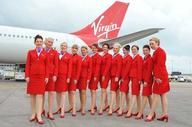 Virgin Airline Flight attendant