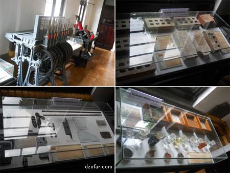 Isi museum Lawang Sewu
