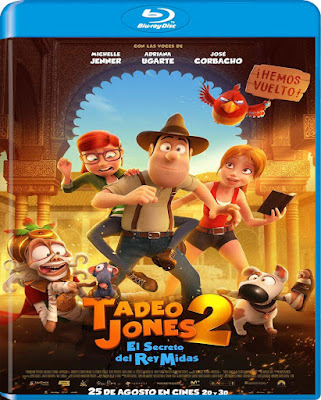 Tadeo Jones 2 El Secreto Del Rey Midas 2017 BD25 Latino