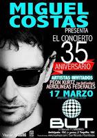 Miguel Costas, concierto 35 aniversario