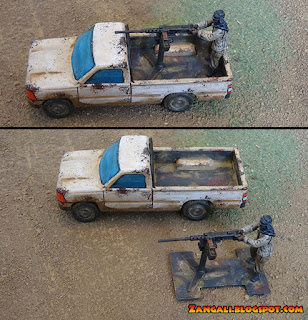 Eureka Miniatures Toyota Technicals with .50cal