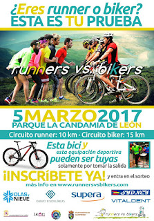 Runners vs Bikers