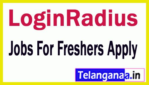 LoginRadius Recruitment Jobs For Freshers Apply