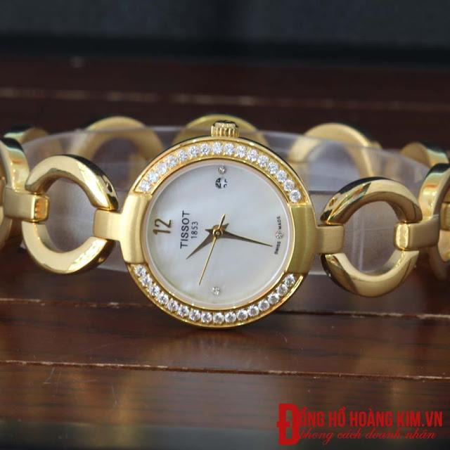 Đồng hồ nữ tissot dây inox giá rẻ dưới 2 triệu