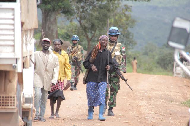 Prajurit Kontingen Garuda Berhasil Damaikan Pertikaian Antar Dua Suku di Republik Demokratik Kongo