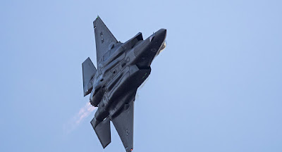 Mais 2 caças americanos F-35 chegam a Israel