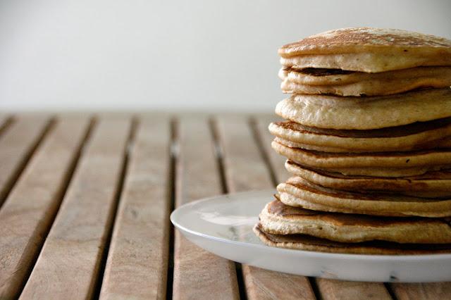 Tortitas avena desayuno