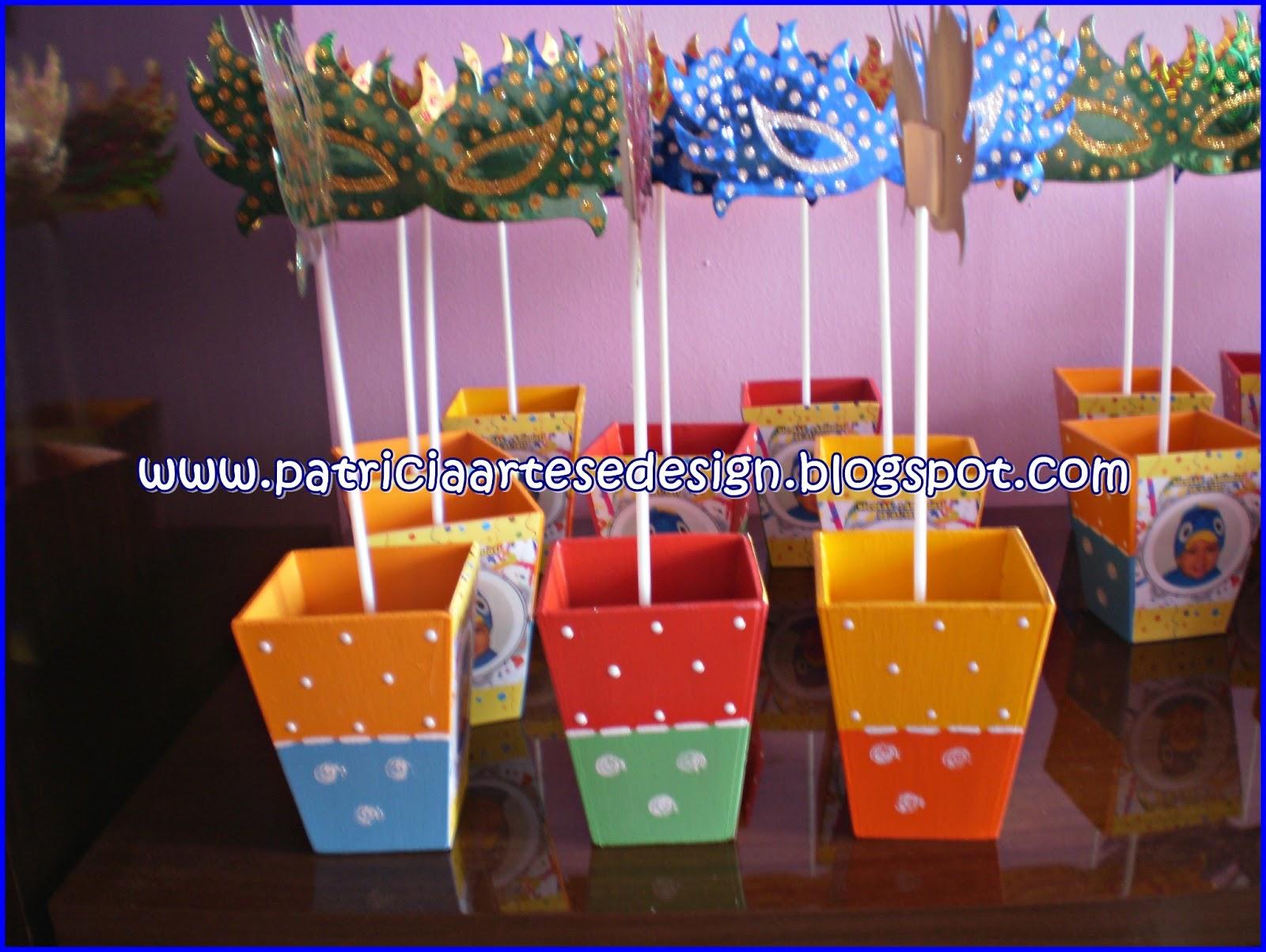 Patricia Artes E Design Lembrancinha Tema Carnaval