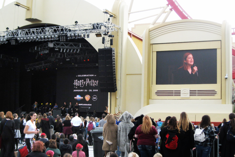 Bonnie Wright A Celebration of Harry Potter Universal Orlando